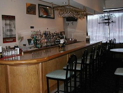 Sports Bar with Large Screen TV